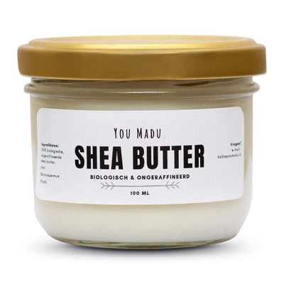 Shea butter 100ml in glas
