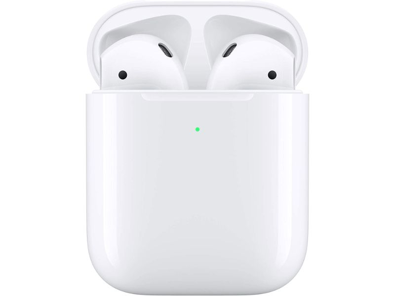 Apple AirPods 2 with Wireless Charging Case-MRXJ2 (2020) - White