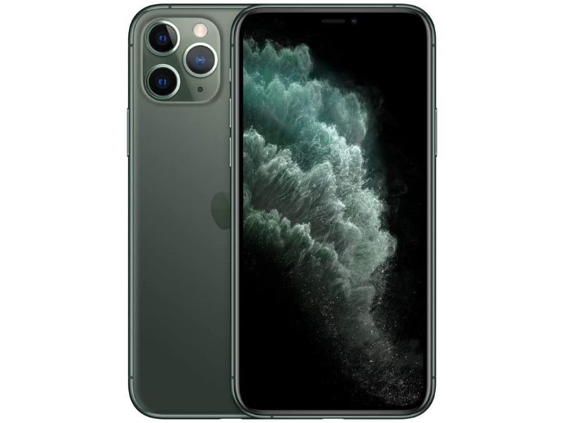 Apple iPhone 11 Pro 64GB-Midnight Green