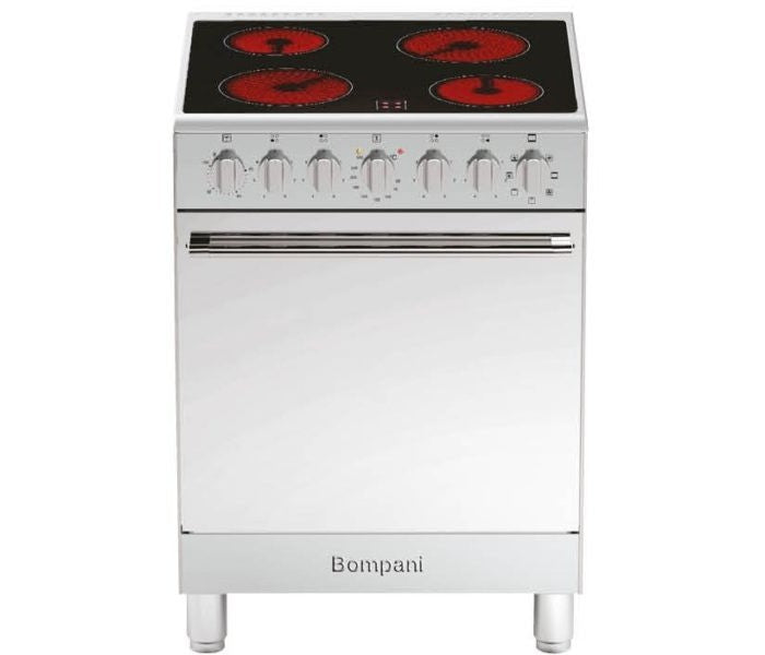 Bompani 60x60cm Full Electric Ceramic Cooker - BO653PG/E
