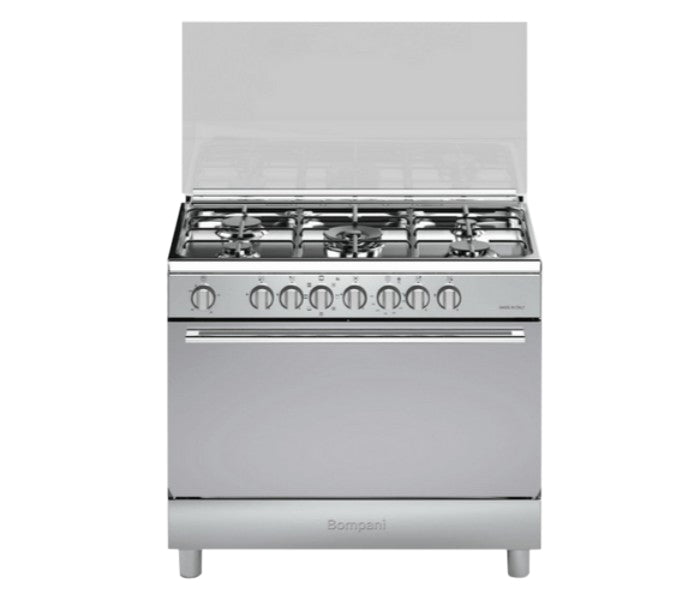 Bompani 5 Gas Burner 90x60cm Cooker with Electric Oven & Grill - BO683ME/L
