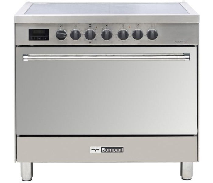 Bompani Cooker 90x60cm - 5 Hotplate Electric Oven - BO683EG/E