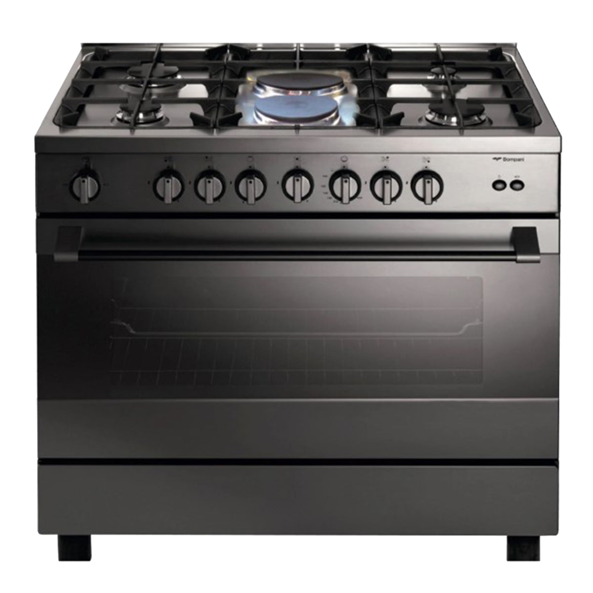 Bompani 4 Gas Burner 90x60cm Cooker with 2 Electric Plates - BO683MK/L