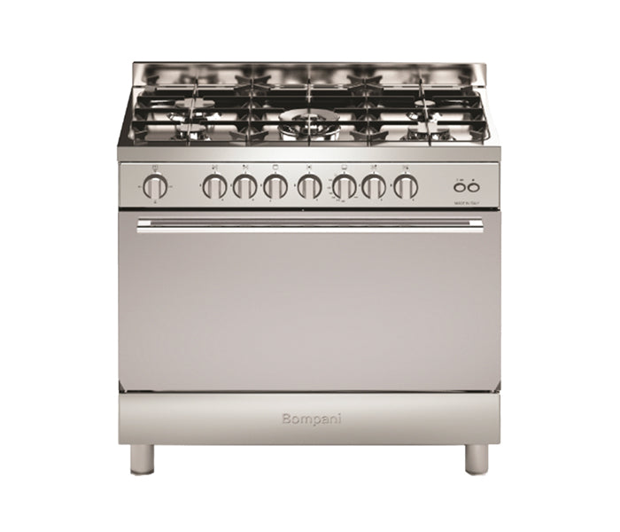 Bompani 90x60cm Cooker with Full Gas Option Oven & Fan - BO693NE/L