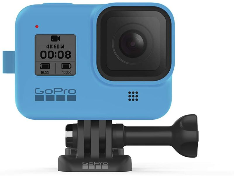 GoPro Sleeve+Lanyard(Hero8 Black) Bluebird