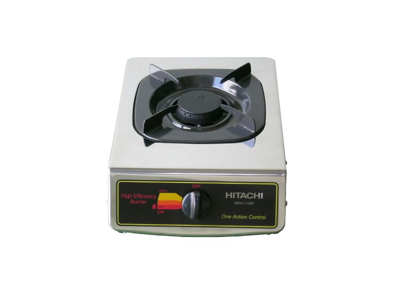 Hitachi Gas Table, Single Burner - MPH-110RI