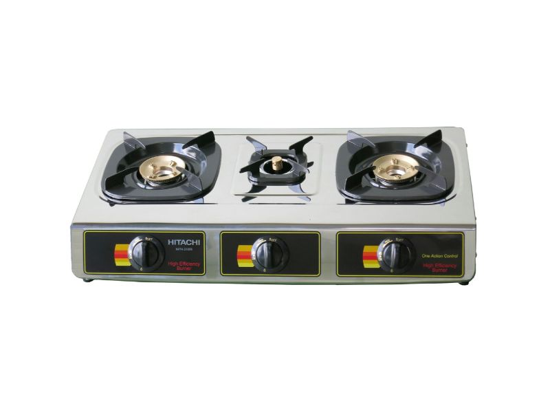 Hitachi Gas Table, Three Burner - MPH-310RI