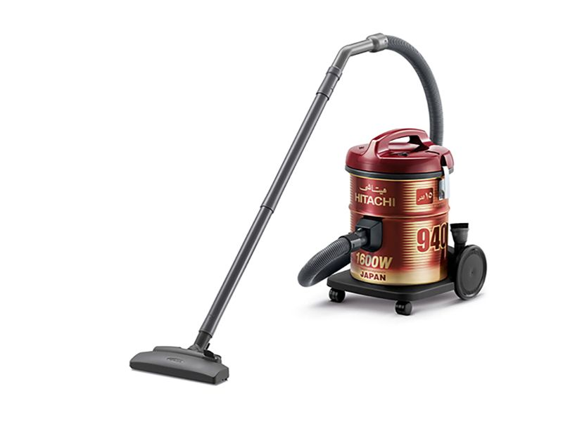 Hitachi Vacuum Cleaner Drum 1600w, Wine Red - CV-940Y