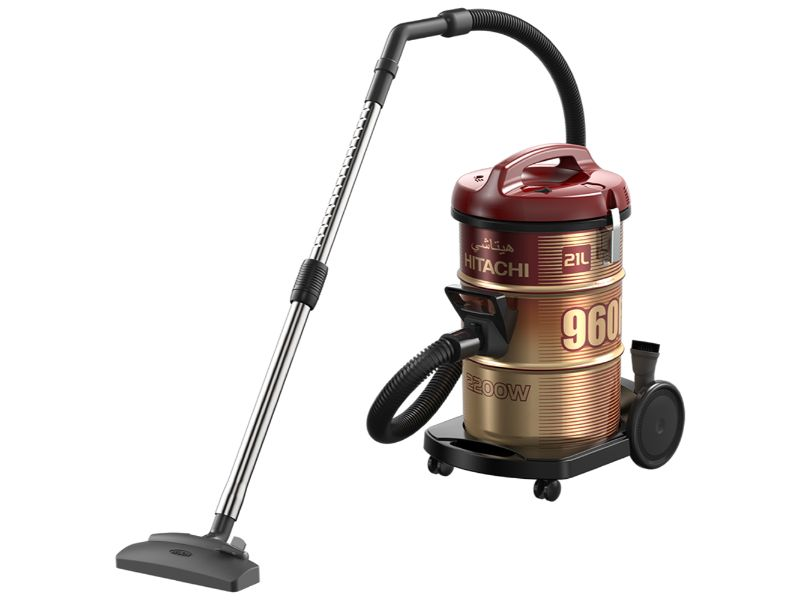 Hitachi Vacuum Cleaner Drum 2200w, Wine Red - CV-960F