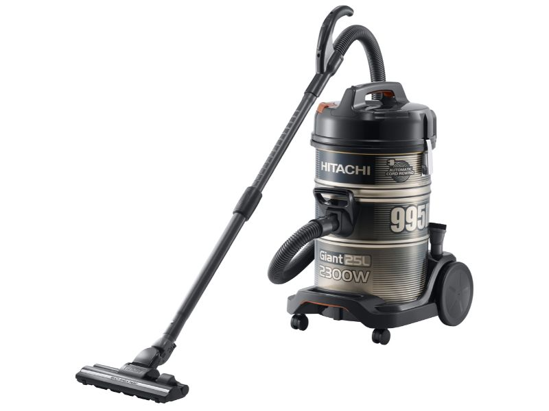 Hitachi Vacuum Cleaner Drum 2300w - Gold Black CV-995DC