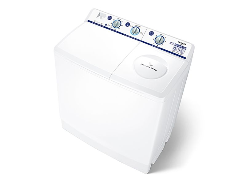 Hitachi Washing Machine Twin Tub 14Kg - PS-1405SJ3CGXWH