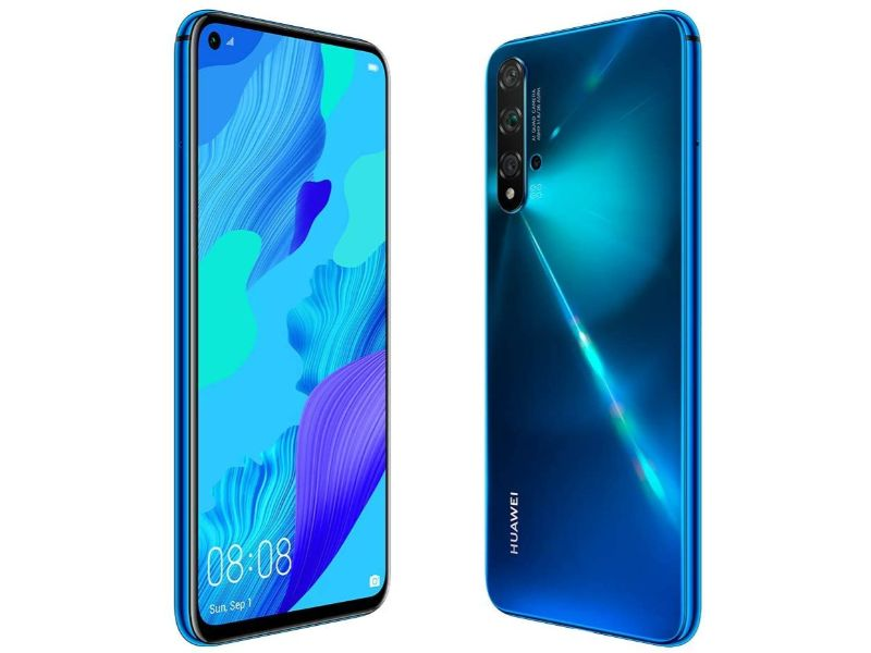 Huawei Nova 5T 8GB+128GB Crush Blue