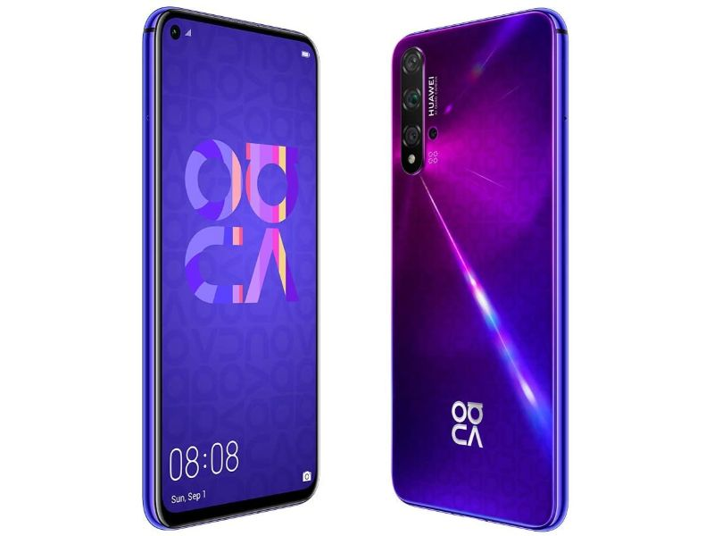 Huawei Nova 5T 8GB+128GB Midsummer Purple