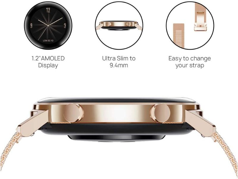 Huawei Watch GT2 42mm Refined Gold