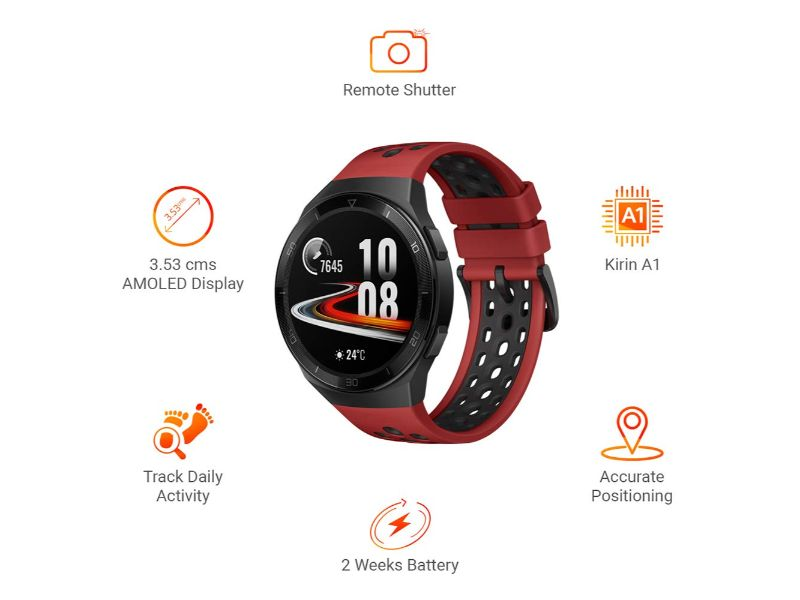 Huawei Watch GT 2E Sport 16MB+4GB Lava Red