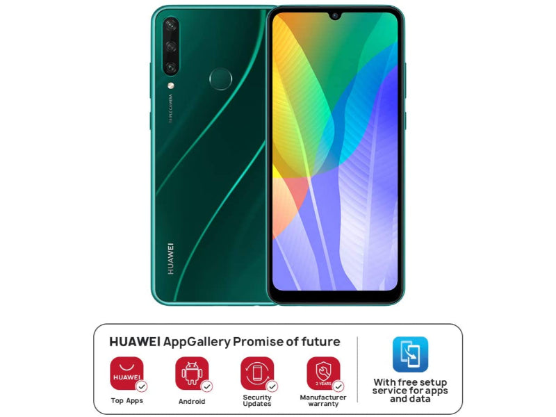 Huawei Y6p 3GB+64GB - Emerald Green