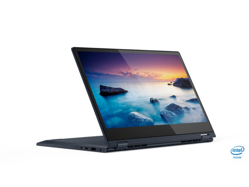 "Lenovo Ideapad C340-14IWL (i3-8145U, 4GB RAM, 256GB SSD, 14""FHD, BackLit Keyboard,) 81N4004SAX - MS office 365 - Blue"