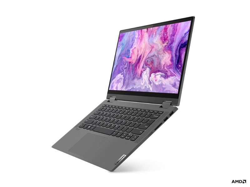 "Lenovo Ideapad Flex 5 14ARE05 (AMD Ryzen5-4500U, 8GB RAM, 512GB SSD, 14"" FHD, Pen, BackLit keyboard) 81X2002NAX - Grey"