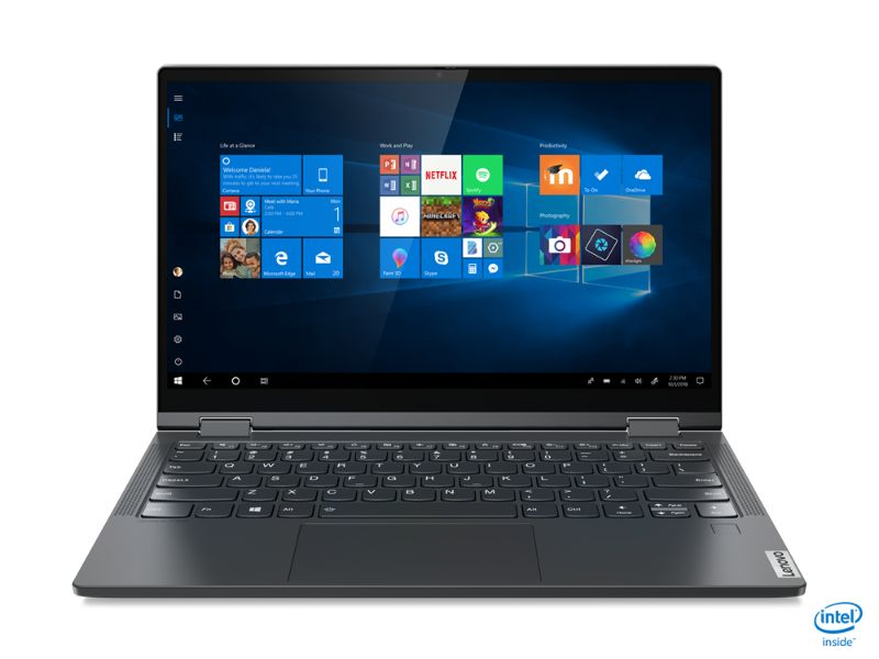 "Lenovo Ideapad Yoga C640-13IML (i7-10510U, 16GB RAM, 512GB HDD, 13.3"" FHD, Pen, BackLit Keyboard) 81UE006RAX - 2 Years Warranty + MS office 365 - Grey"