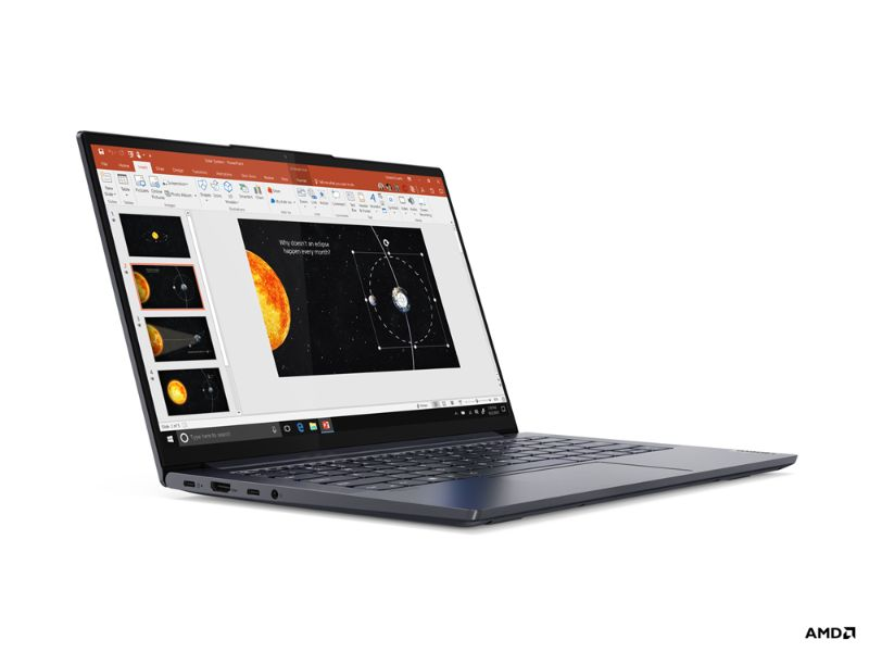 "Lenovo Ideapad Yoga Slim 7 14ARE05 (AMD Ryzen 7 4700U, 16GB RAM, 512GB HDD, 14"" FHD) 82A20066AX - 2 Years Warranty + MS office 365 - Orchid"