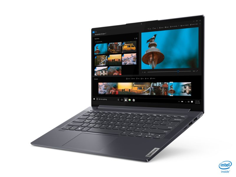 "Lenovo Ideapad Yoga Slim 7 14IIL05 (i7-1065G7, 16GB RAM, 1TB SSD, 2GB MX350, 14"" FHD) 82A100DFAX - 2 Years Warranty + MS office 365 - Grey"