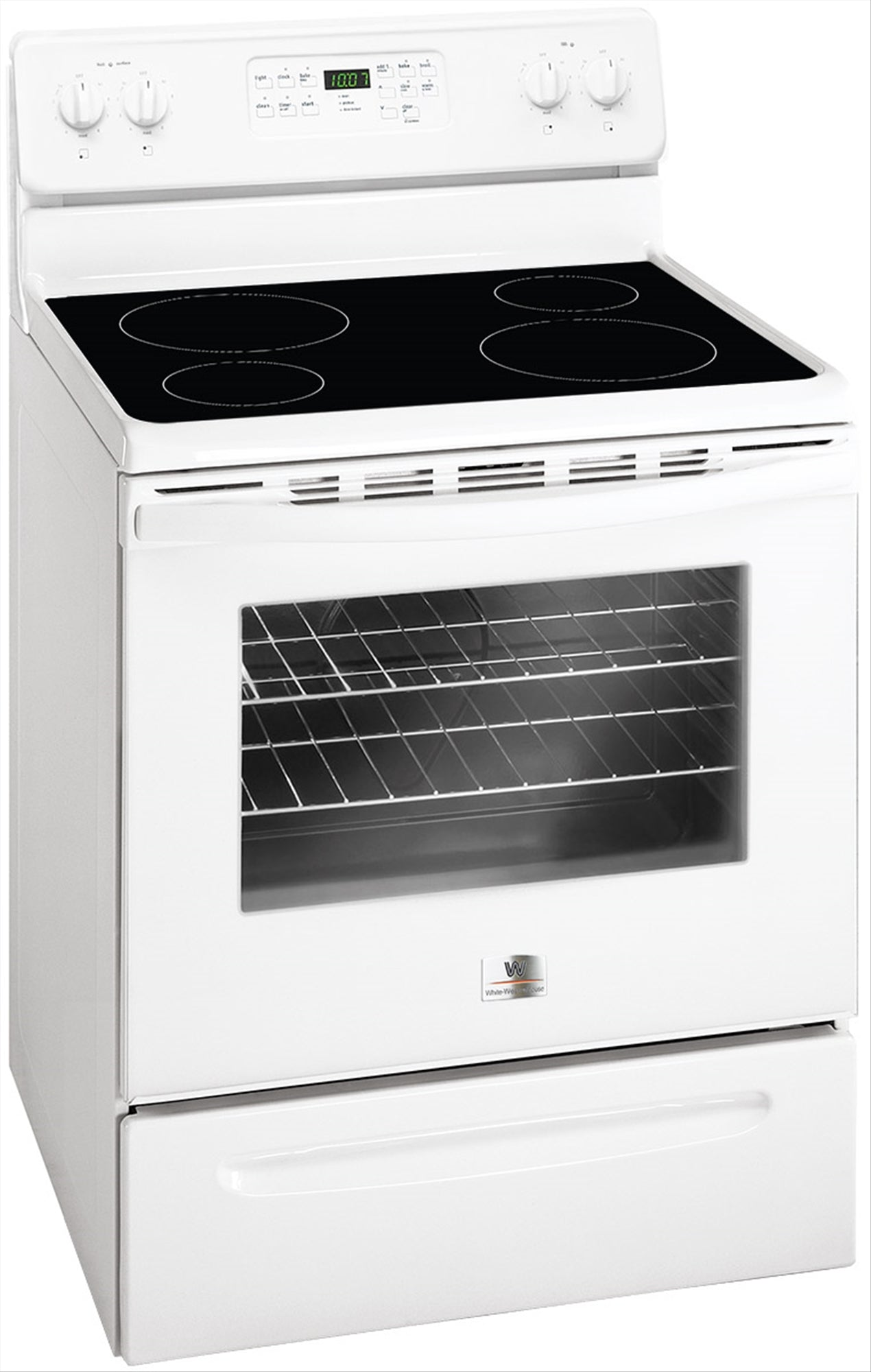 White Westinghouse Cerramic & Electric Oven - MFF3025RW