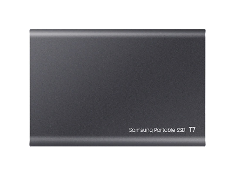 Samsung T7 Portable SSD -500GB -USB 3.2 Gen.2 External SSD Titanium Grey-MU-PC500T/WW