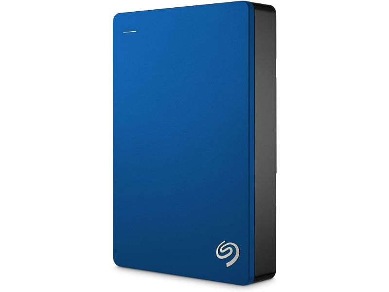 Seagate Backup Plus Portable 4TB External Hard Drive HDD – USB 3.0-STDR4000901-Blue