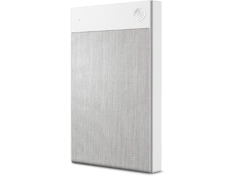 Seagate Backup Plus Ultra Touch 2TB External Hard Drive Portable HDD –USB-C USB 3.0-STHH2000402-White