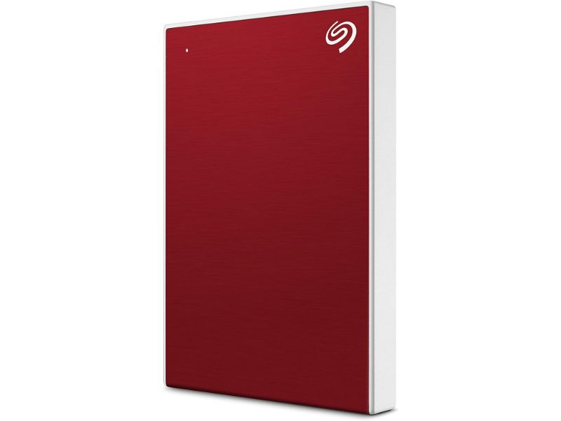 Seagate Backup Plus Slim 2TB External Hard Drive Portable HDD – USB 3.0-STHN2000403-Red