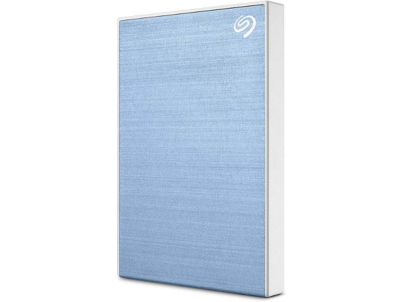 Seagate Backup Plus Portable 5TB External Hard Drive HDD – USB 3.0 -STHP5000402 -Light Blue