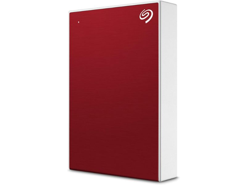 Seagate Backup Plus Portable 4TB External Hard Drive HDD – USB 3.0 -STHP4000403 -Red