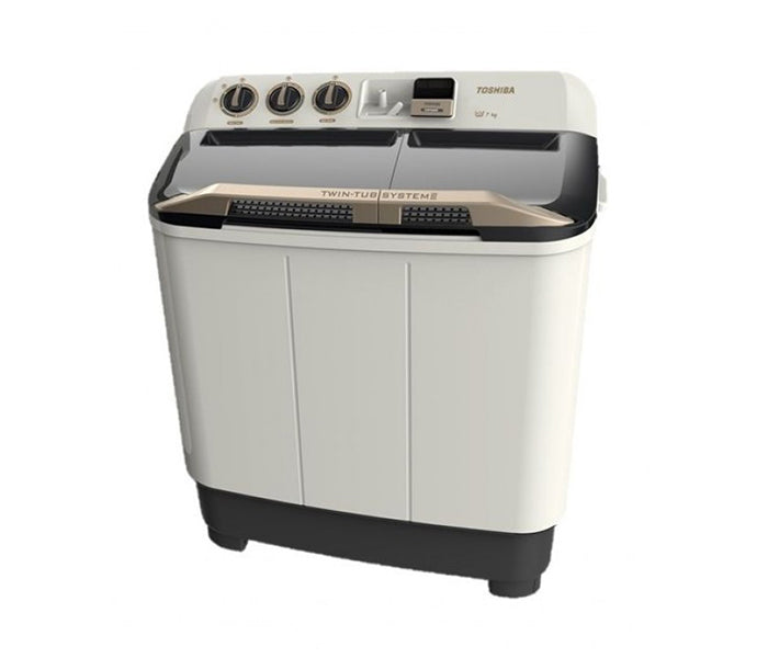Toshiba Twin Tub Washing Machine 7 kg - VH-H80WB