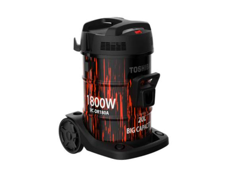 Toshiba Vacuum Cleaner 20 LTR 1800W Drum Type - VC-DR180ABF