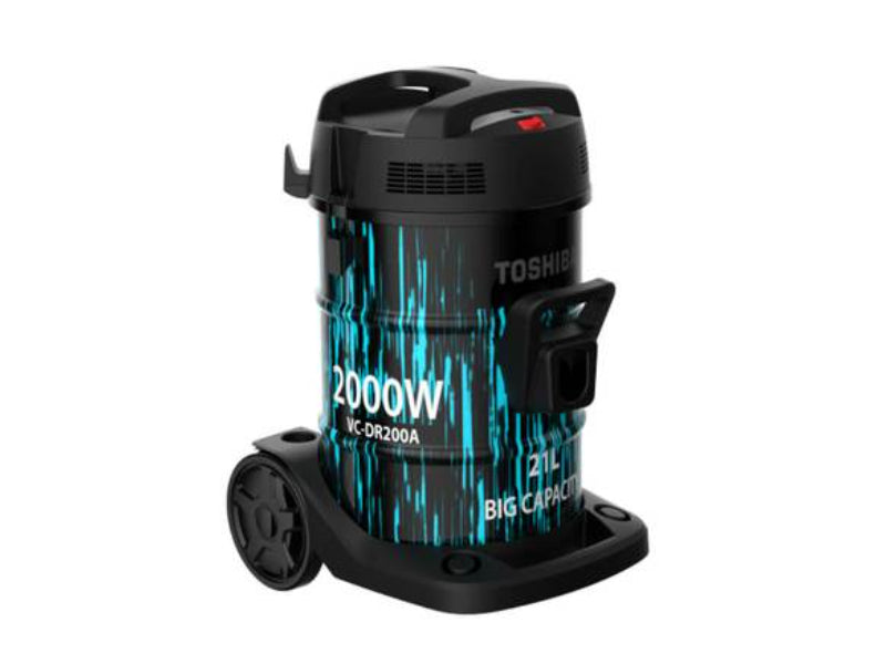 Toshiba Vacuum Cleaner 21 LTR 2000W Drum Type - VC-DR200ABF
