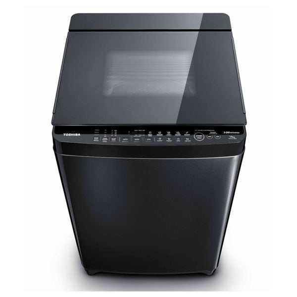 Toshiba 14 Kg Top load Fully Auto Washing Machine In Slight Black Finish