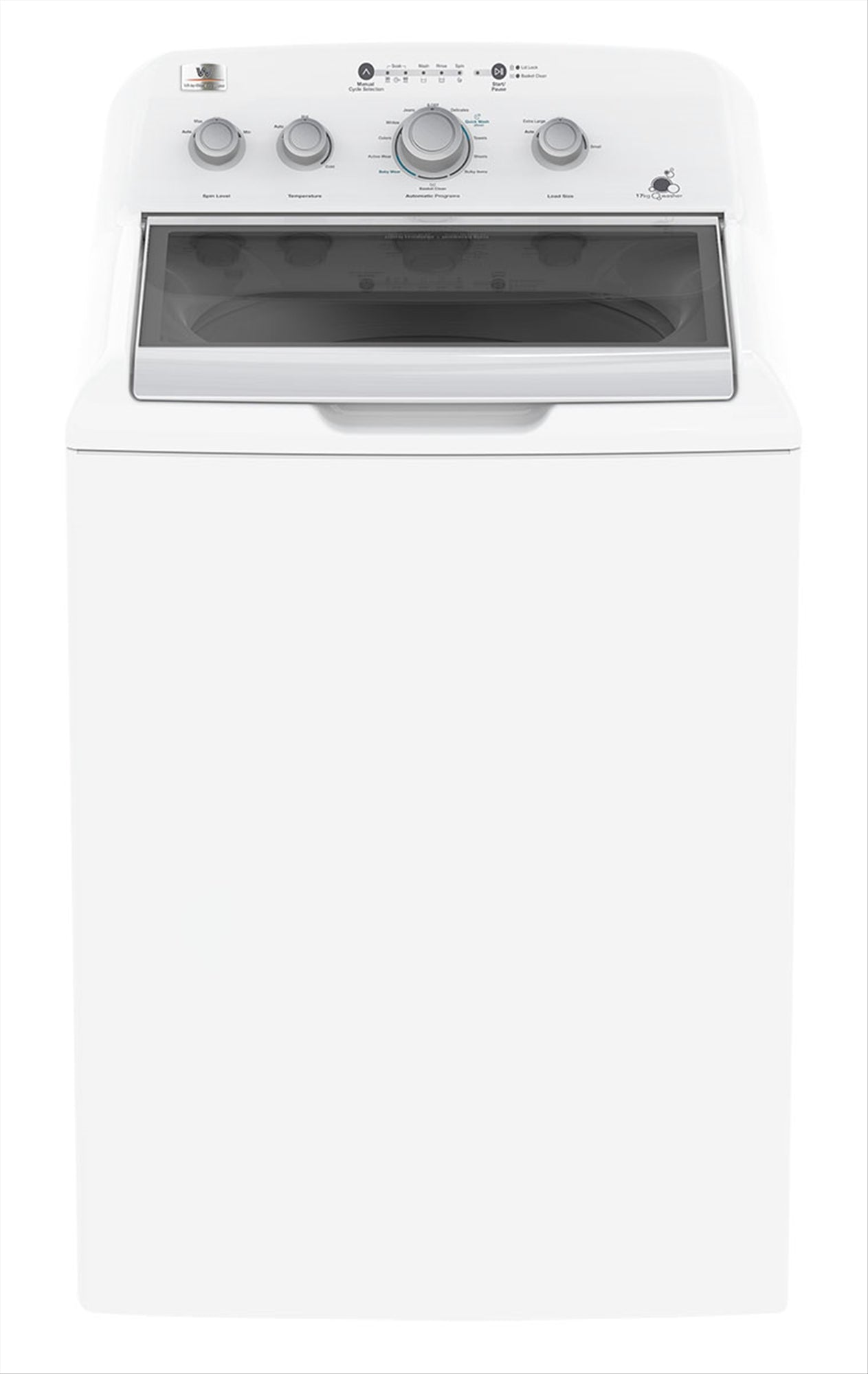 White Westinghouse Top Load Washing Machine 17 kg - XLV34GGTWB