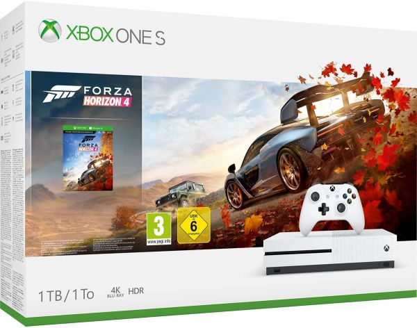 Xbox One S 1TB Console with Forza Horizon 4 DLC code