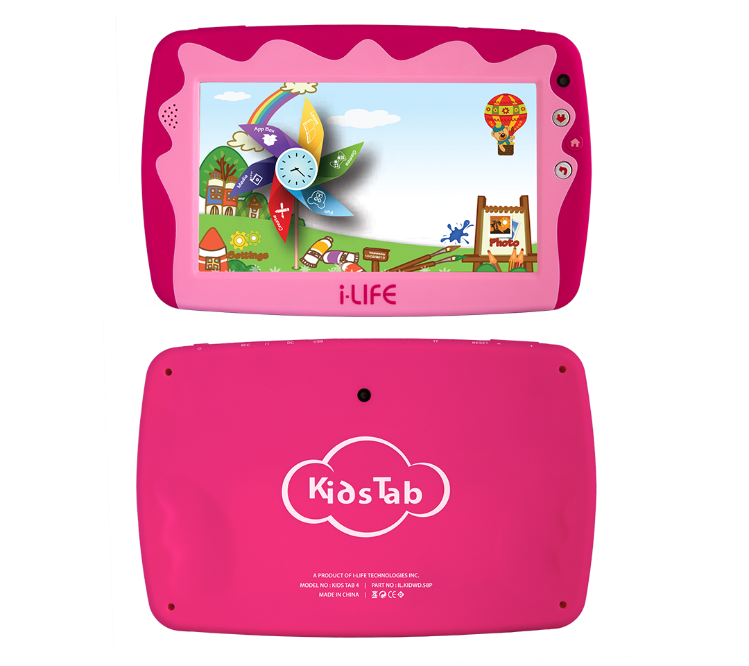 i-Life Kids Tab 4 Tablet - 7 Inch, 8GB, 512MB RAM, Wi-Fi
