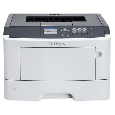 Lexmark MS317dn A4 Mono Laser Printer in White & Gray Color