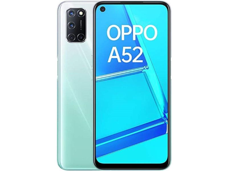 OPPO A52 (4GB + 128GB)- Display Your Way | Stream White