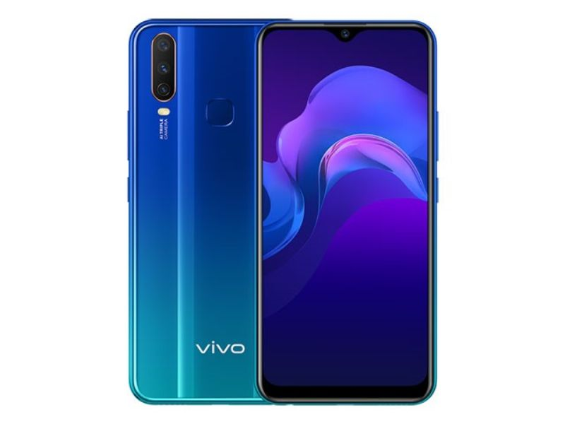 Vivo Y15 (4GB+64GB)  Blue