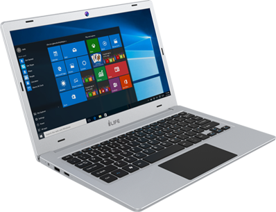 i-Life ZedAir Light -11.6 Inch Silver & Gold Windows 10