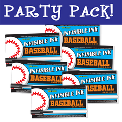 Invisible Ink: Yes & Know® Game Book - Baseball Party Pack