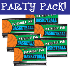 Invisible Ink: Yes & Know® Game Book - Basketball Party Pack