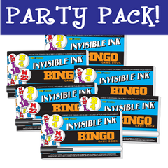 Invisible Ink: Yes & Know® Game Book - Bingo Party Pack
