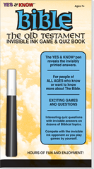 Invisible Ink: Yes & Know® Bible - Old Testament