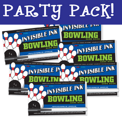 Invisible Ink: Yes & Know® Game Book - Bowling Party Pack