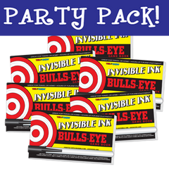 Invisible Ink: Yes & Know® Game Book - Bulls-Eye Party Pack