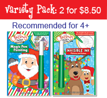 Christmas: Rock'n Around the Tree & Santa's Workshop - Pack (2 Books)